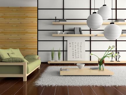 سبک معماری داخلی Asian Inspired