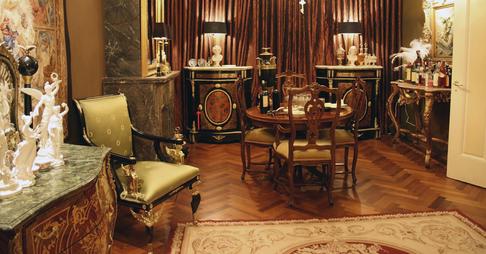 سبک معماری داخلی Baroque یا Rococo